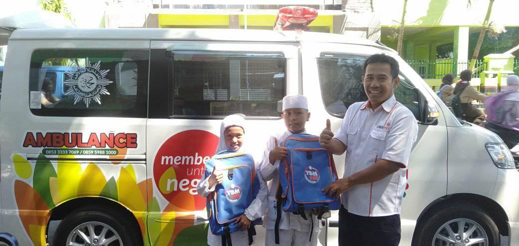 BRI Kantor Cabang Probolinggo Salurkan 110 Kado Rhamadhan pada LAZISMU
